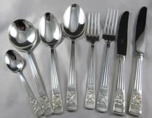 Vintage Rodd Berkeley Silver Plate Cutlery Set for 6