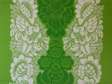 Vintage Marimekko fabric wall art panel 1m x 75cm Ananas Maija Isola
