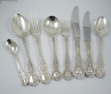 Vintage Rodd Windsor Silver Plate Cutlery Set for 6 - 44 Pieces