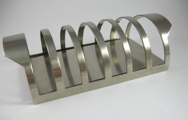 Danish Stelton Stainless Steel Cylinda-Line Toast Rack.