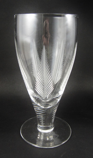 Vintage Stuart Crystal Woodchester Replacement champagne flute