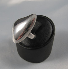 Vintage Danish Hans Hansen Sterling Silver Modernist Ring