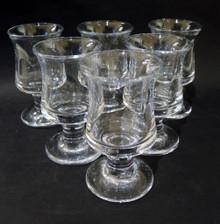 6 Vintage Holmegaard Ships Port Wine Glasses Per Lutkin
