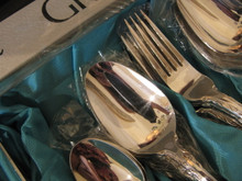Vintage Grosvenor Laureate Silver Plate Cutlery Set 6 Person