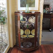 Art Deco Leadlight Cabinet