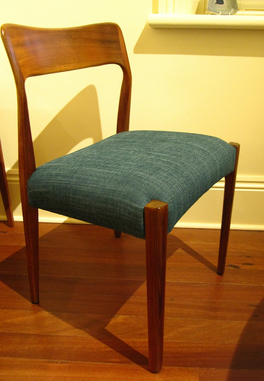 6 Mid Century Australian T H Brown Dining Chairs In Stock