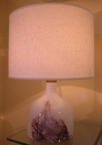 Vintage Holmegaard Symmestrisk Table Lamp made in Denmark
