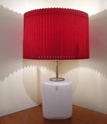 Vintage Holmegaard Kubus Table Lamp by Designed by Per Lutken