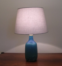 Saxbo ceramic table lamp designed by Eva Staehr Nielsen