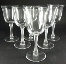 6 Vintage French Lalique Barsac Port Wine glasses
