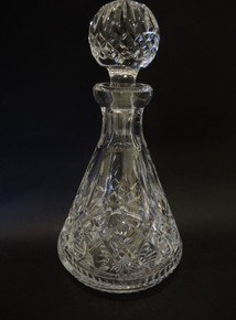 Vintage Waterford Crystal Lismore Roly Poly Decanter