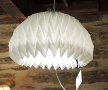 Vintage Le Klint Folded medium light fitting 157 Solomon Seal. Andreas Hansen