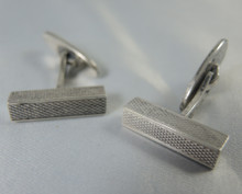 Vintage Danish Sterling Silver cuff links Aare and Krogh