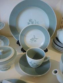 Vintage 6 Person Royal Copenhagen Faience 'Nils' Tea Set