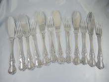 Rodd Camille Fish Cutlery Set for 6 people