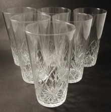 6 Vintage Holmegaard Else Hi Ball glasses 1919