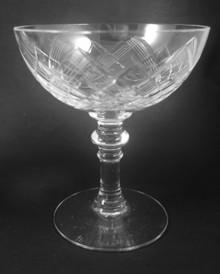 8 Vintage Holmegaard Jaegersborg Champagne Saucers glasses Jacob Bang 1933