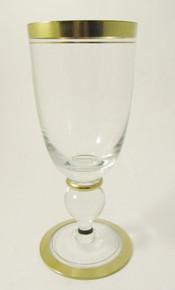 8 Vintage Holmegaard Gyldenholm Red Wine glasses Per Lutkin 1949