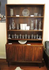 Vintage Danish Rosewood Bookshelf and wall unit