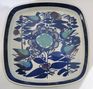 Vintage Royal Copenhagen Tenera Bowl with birds Kari Christensen Denmark