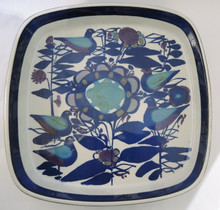 Vintage Royal Copenhagen Tenera Bowl with birds Kari Christensen Denmark