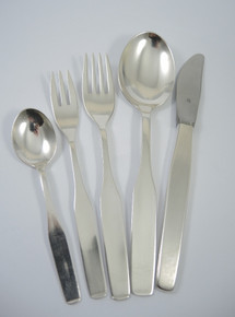 45 Piece Vintage WMF Silver Plate 8 Person Form 3600 Cutlery Set