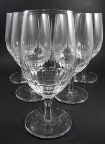 6 Vintage Holmegaard Egholm Lager or Wine Glasses Christer Holmgren c1970