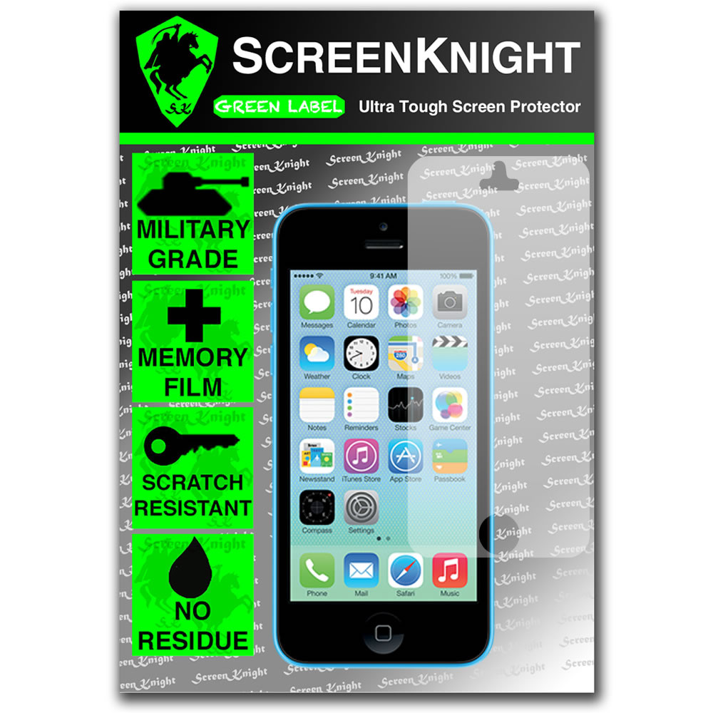 ScreenKnight Apple iPhone 5C Front Invisible Shield