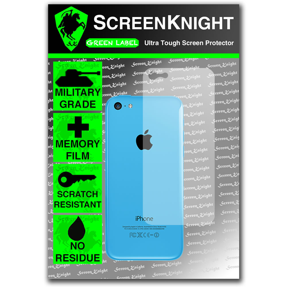 ScreenKnight Apple iPhone 5C Invisible Shield