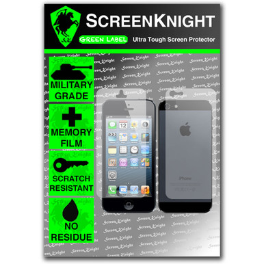 ScreenKnight Apple iPhone 5 Full Body Invisible Shield
