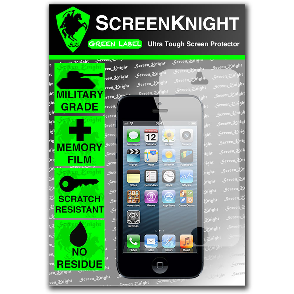ScreenKnight Apple iPhone 5 Front  Invisible Shield