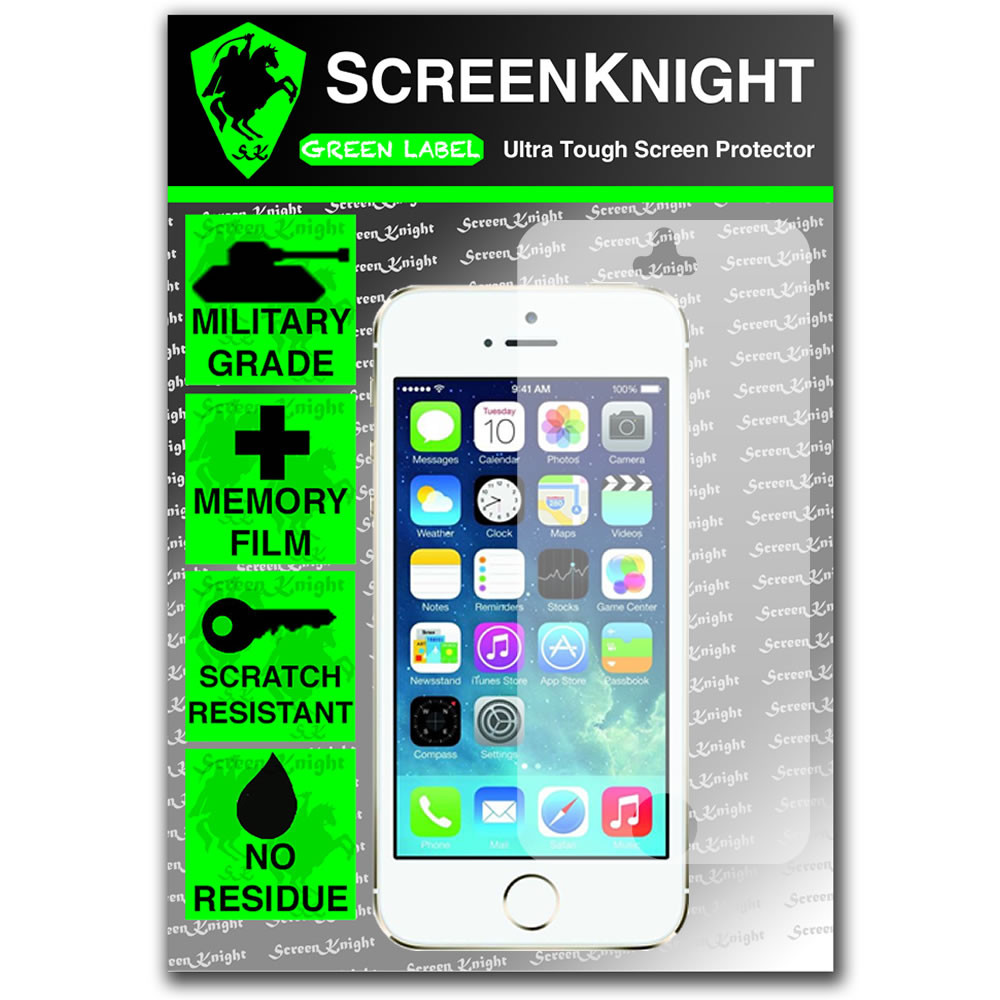 ScreenKnight Apple iPhone 5S Front Invisible Shield