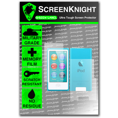 ScreenKnight Apple iPod Nano 7th Generation Invisible Shield