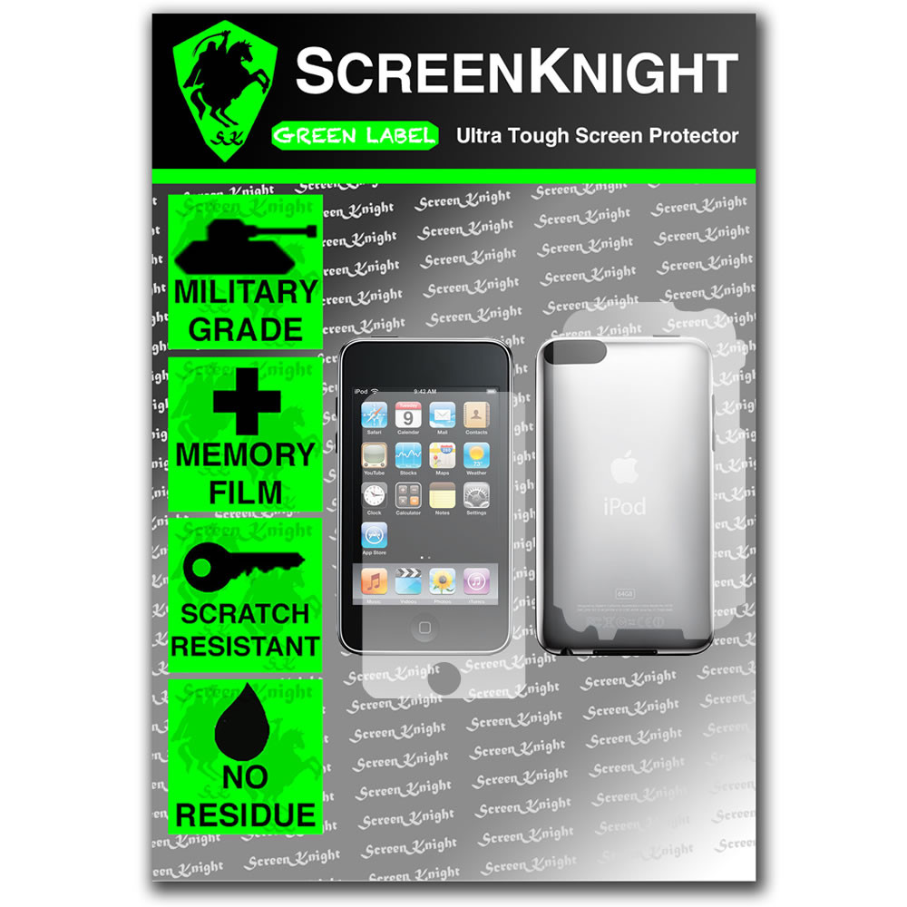 ScreenKnight Apple iPod Touch 2nd Generation Back Invisible Shield