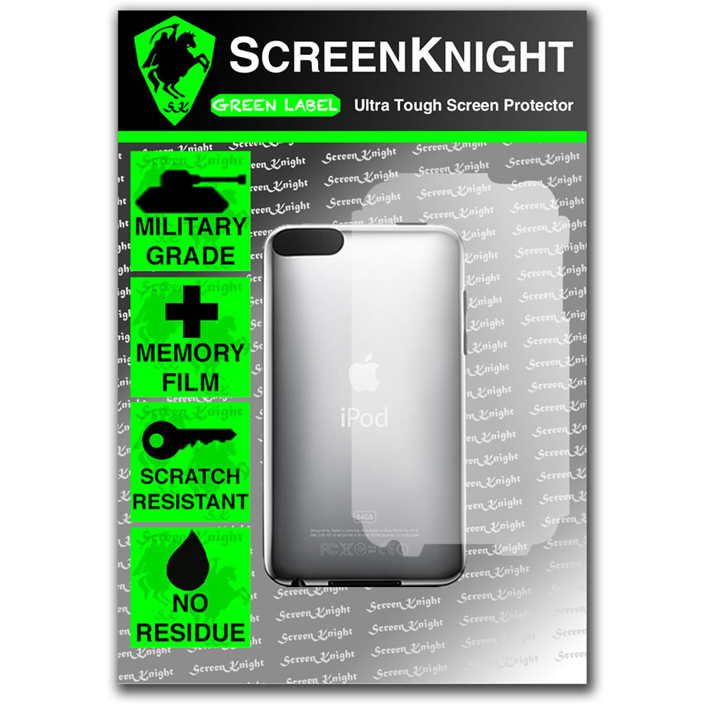 ScreenKnight Apple iPod Touch 2nd Generation Front Invisible Shield