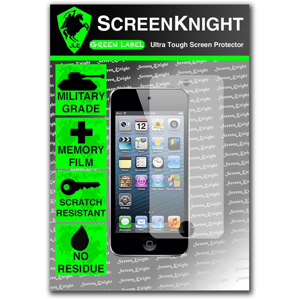 ScreenKnight Apple iPod Touch 5th Generation Front Invisible Shield