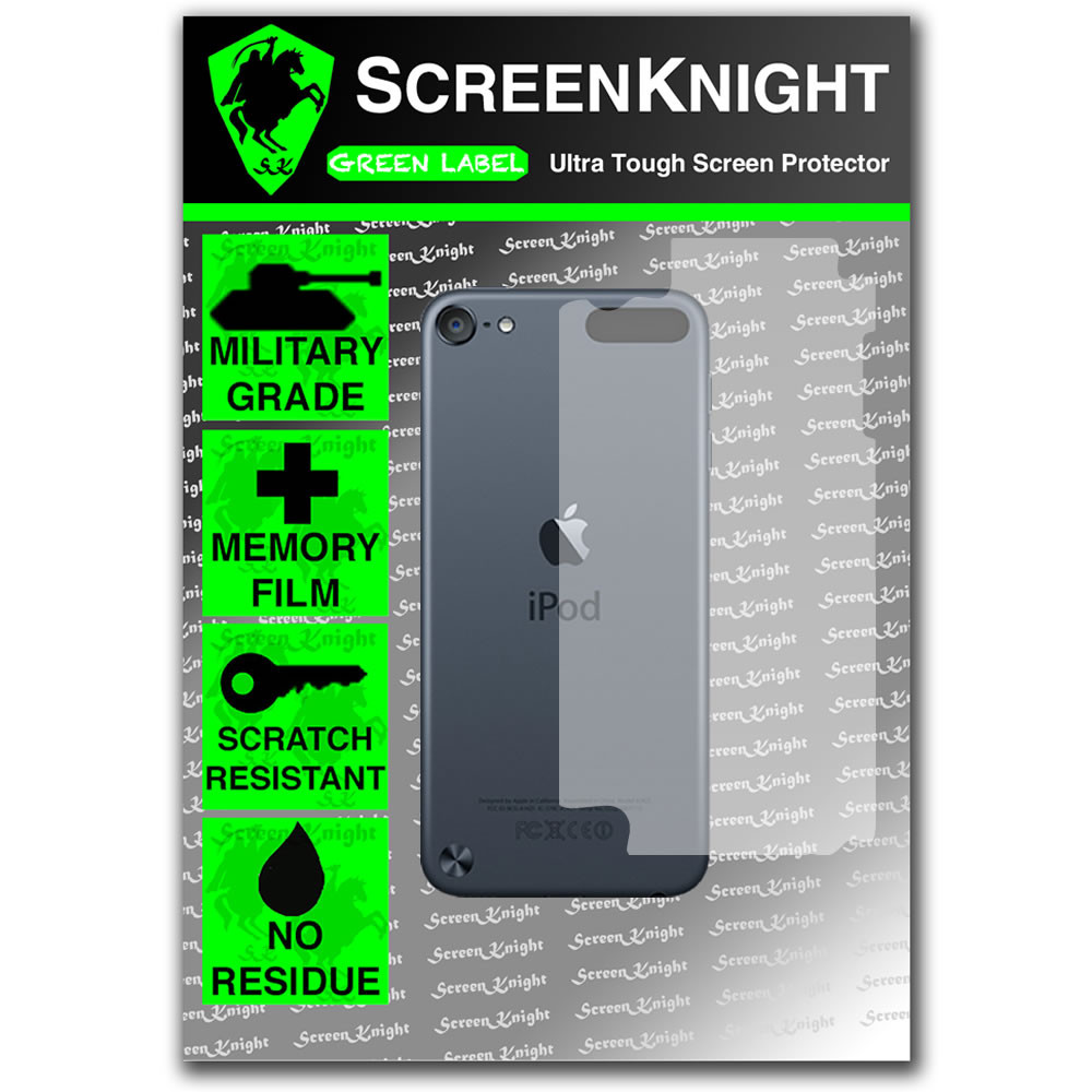 ScreenKnight Apple iPod Touch 5th Generation Back Invisible Shield