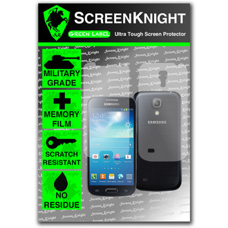 ScreenKnight Samsung Galaxy S4 Mini Full Body Invisible Shield