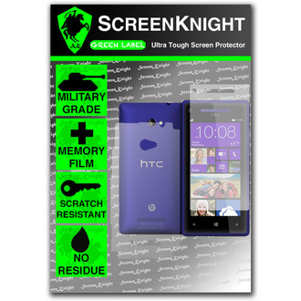 ScreenKnight HTC 8x Full Body Invisible Shield