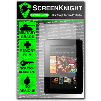 "ScreenKnight Amazon Kindle Fire HD 7"" Front Invisible Shield"