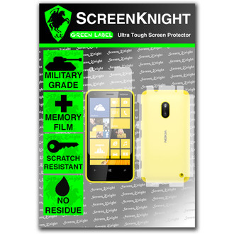 ScreenKnight Nokia Lumia 620 Full Body Invisible Shield