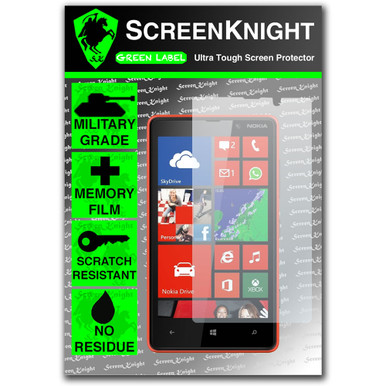 ScreenKnight Nokia Lumia 820 Front Invisible Shield