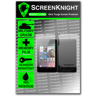 ScreenKnight Google Nexus 7 Full Body Invisible Shield