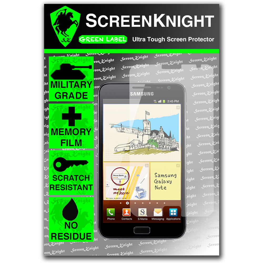 ScreenKnight Samsung Galaxy Note 2 Front Invisible Shield