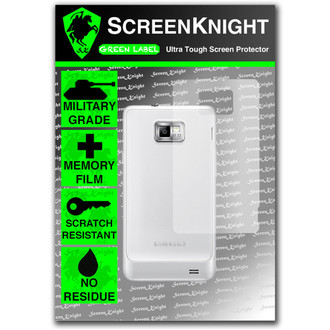 ScreenKnight Samsung Galaxy S2 Back Invisible Shield
