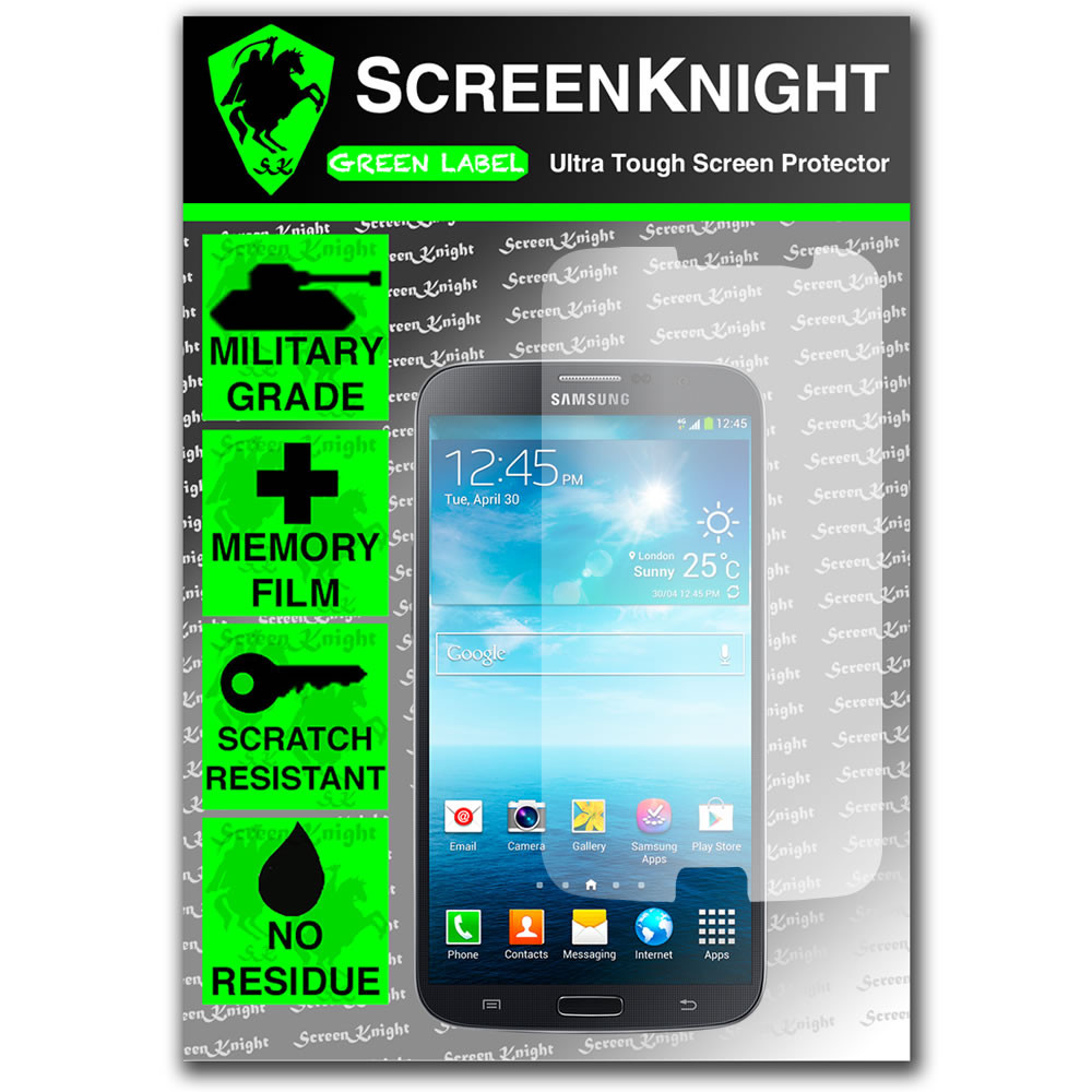 ScreenKnight Samsung Galaxy Mega 6.3 Front Invisible Shield