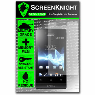 ScreenKnight Sony Xperia Miro Front Invisible Shield
