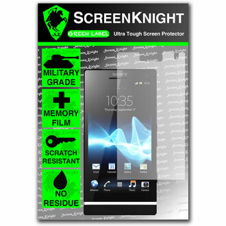 ScreenKnight Sony Xperia S Front Invisible Shield