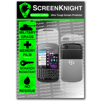 ScreenKnight BlackBerry Q10 Full Body Invisible Shield