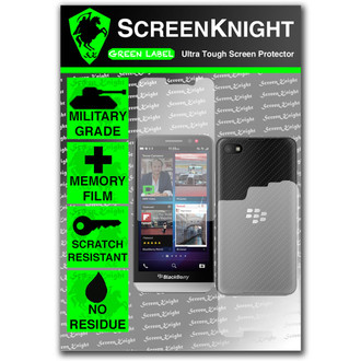 ScreenKnight BlackBerry Z30 Full Body Invisible Shield